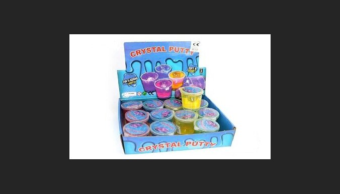 Из продажи изъяты опасные игрушки Knet-Schleim Dinosaurier и Crystal Putty