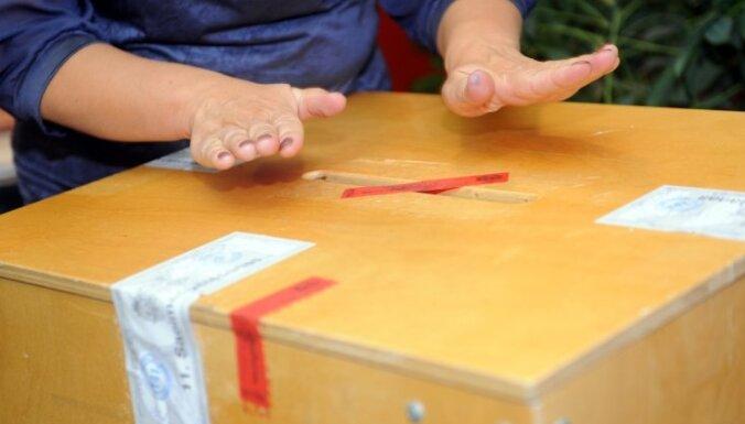 Pašvaldību vēlēšanām pieteikušies 8548 kandidāti no 571 saraksta