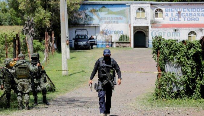 Slaktiņā Meksikas bārā nogalināti 11 cilvēki