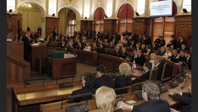 Ulmanis: vislielākais cinisms Saeimā ir klusums smagu lēmumu pieņemšanas laikā