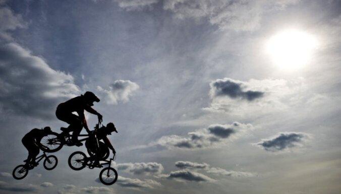BMX riteņbraucējai Aleksejevai PČ gūtā trauma neliegs trenēties