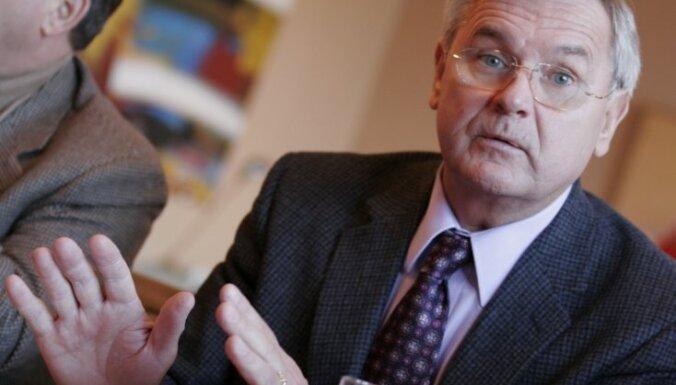 Jurkāns Saeimas vēlēšanās gatavs kandidēt Šlesera partijas sarakstā