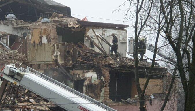 Gaso: взрыв в доме в Агенскалнсе не связан с природным газом