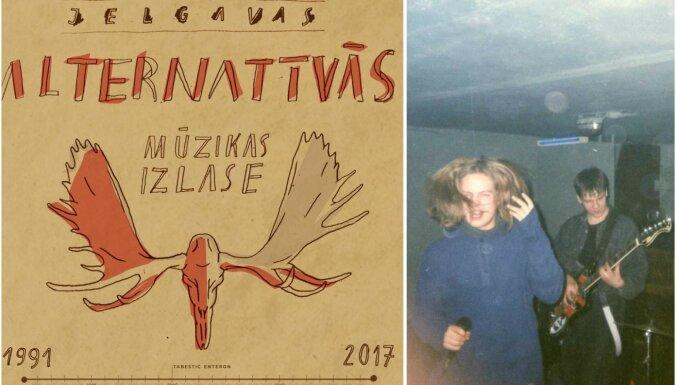 Klajā laista 'Jelgavas alternatīvās mūzikas izlase 1991-2017'