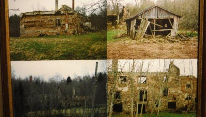 ФОТО. Сказ о том, как одна семья из заброшенной мельницы в Лигатне сделала уютный дом