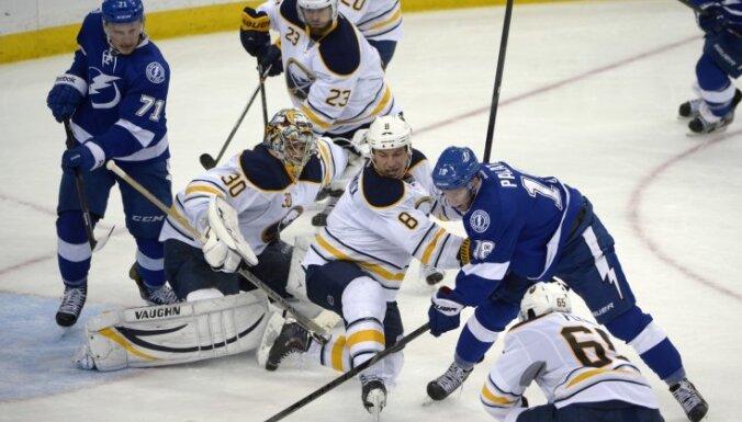 Гудлевскис дебютировал в АХЛ, у Гиргенсонса— передача в НХЛ