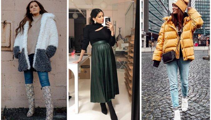 Februāra modes salikumi: 29 tērpu idejas katrai mēneša dienai