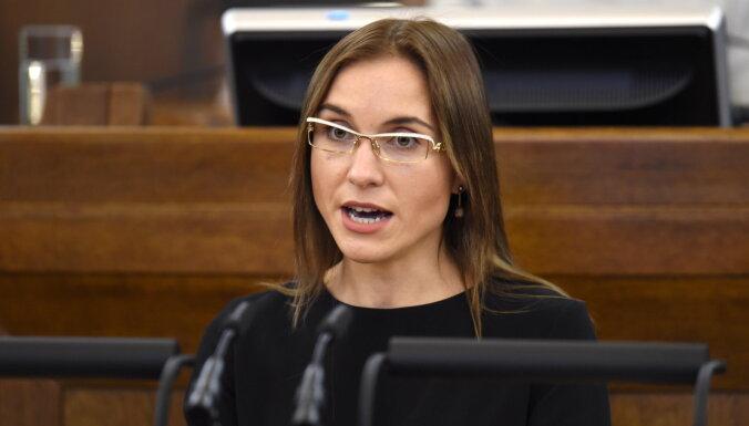 Депутат KPV LV Спруде заявила об уходе из партии