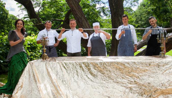 Cēsu jubilejā gastronomiski muzikālu piedzīvojumu varēs baudīt 'Garšu dārzā'