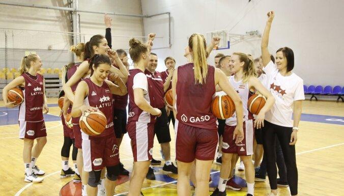 Sieviešu izlase tiecas uz olimpiādi – Latvijā un Serbijā sākas Eiropas čempionāts basketbolā