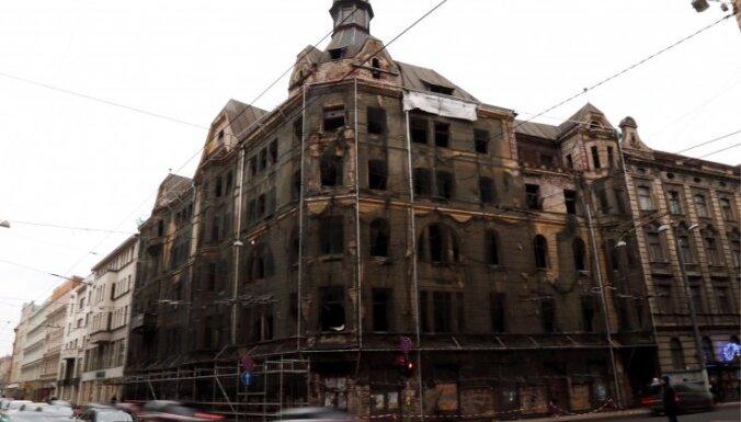 Marijas ielas grausta īpašnieki sliecas ēku nojaukt