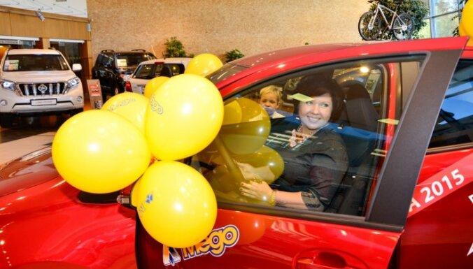 Призы большой летней лотереи Mego, Vesko и Mini Vesko нашли своих владельцев
