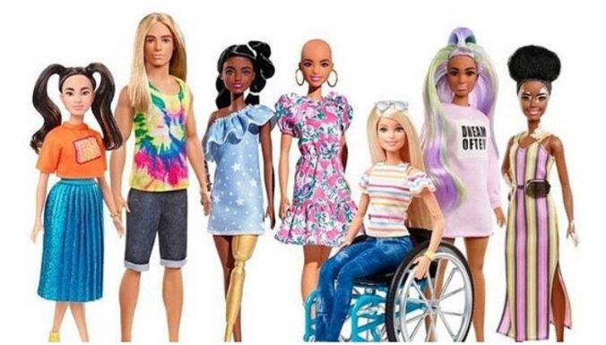 Куклы Барби с протезом, без волос и с витилиго появятся в этом году