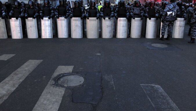 Москвa: Пушкинская площадь окружена полицией