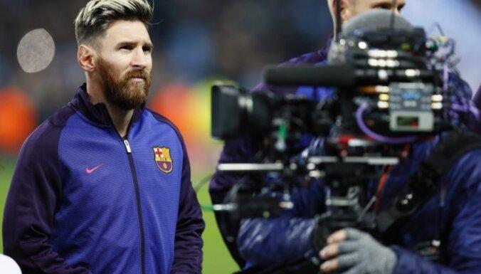 "ВИДЕО: ""Барселона"" разгромила ""Лас-Пальмас"", Месси повторил рекорд Рауля"