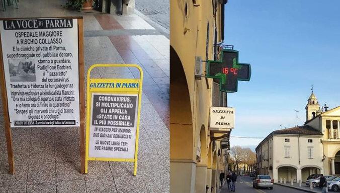 """""""Дома крыша едет, на улице — все сложно"""". Как живут латвийцы в карантине Италии"""