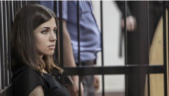 В Петербурге задержали участницу Pussy Riot Надежду Толоконникову