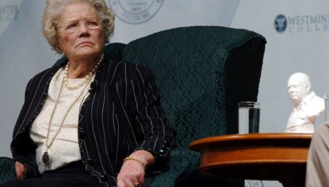 Mirusi Vinstona Čērčila jaunākā meita Mērija