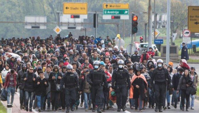 Merkeles bēgļu politika ir antikonstitucionāla, secina ietekmīgs jurists