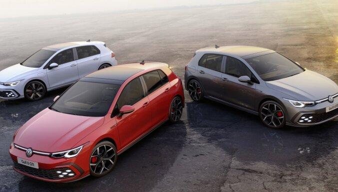 VW parādījis jaunā 'Golf' sportisko 'GTI' versiju