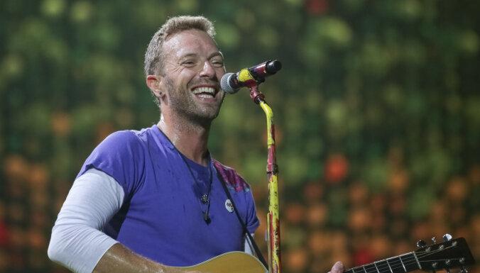 'Coldplay', rūpējoties par vidi, nedosies jaunā albuma koncerttūrē