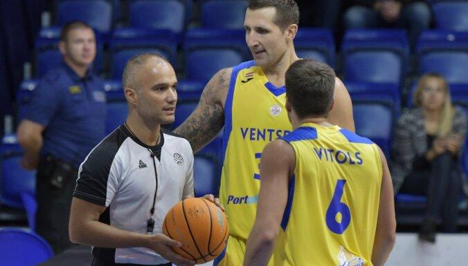 Bagatska vadītā 'Kyiv' sarūpē 'Ventspilij' pirmo zaudējumu FIBA Eiropas kausā