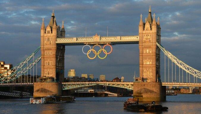 Otrdien uz Londonu dosies 24 Latvijas olimpiskās komandas pārstāvji