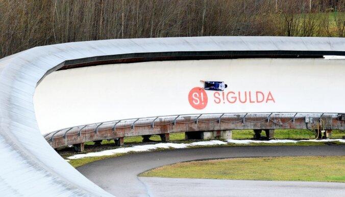 Skeletona akadēmijā Siguldā treniņu procesu aizsākuši jau 13 audzēkņi