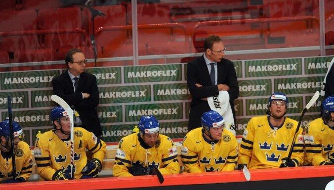 'Capitals' uzbrucējs Bekstrēms pievienojies Zviedrijas hokeja valstsvienībai