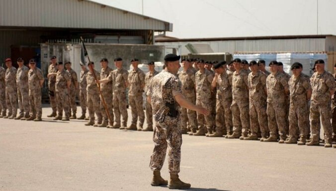 Латвия направит в Афганистан 30 военнослужащих