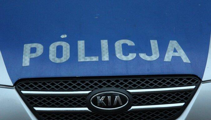 Польша: пьяный водитель из Латвии совершил ДТП, а затем угрожал фельдшеру и полицейскому