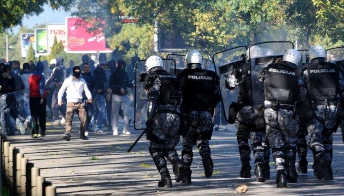 Беспорядки в Черногории: пострадали 40 человек, включая 15 полицейских