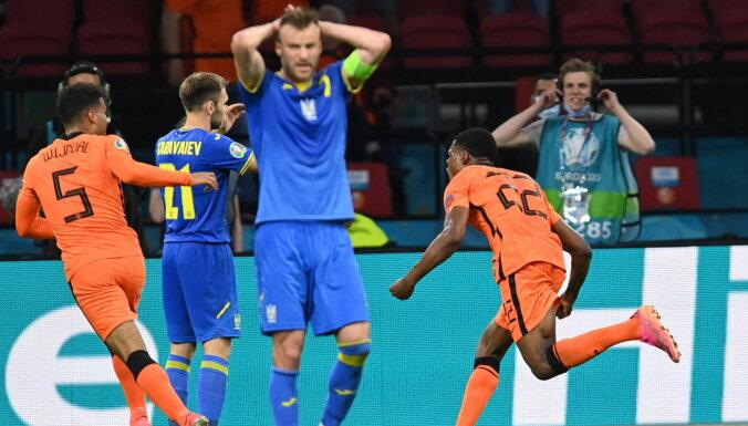 Украина уступила голландцам в триллере с пятью забитыми мячами