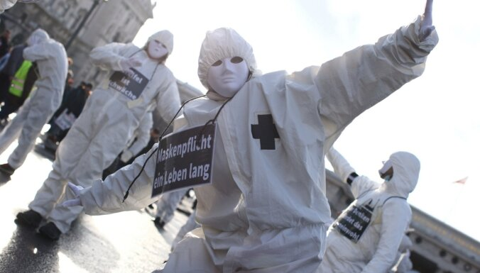 В Австрии и ФРГ прошли протесты против карантина