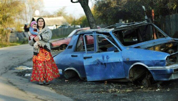 Цыганский погром на Украине: один человек убит, четверо ранены