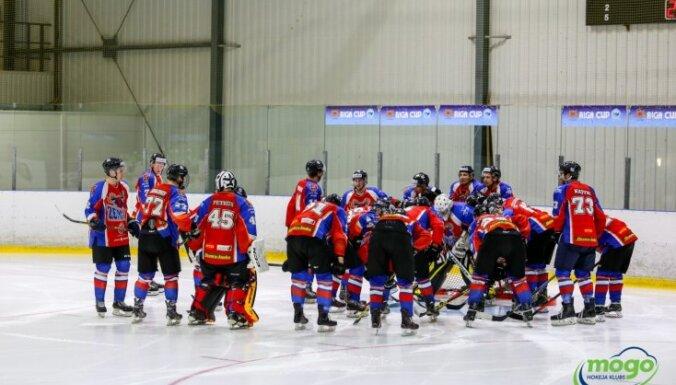 'Zemgale/LLU' hokejisti virslīgas spēlē izrauj uzvaru pār 'Prizmu'