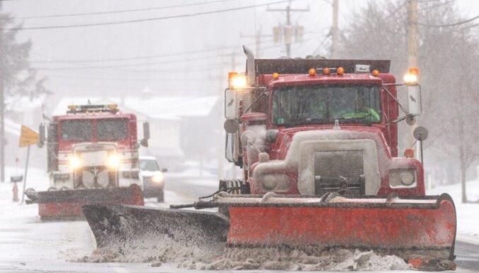 ASV gatavojas 2014. gada pirmajai lielajai sniega vētrai