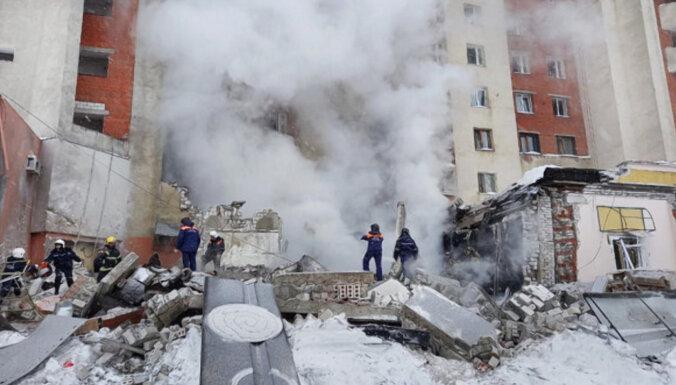 ВИДЕО: В Нижнем Новгороде произошел взрыв газа в жилом доме