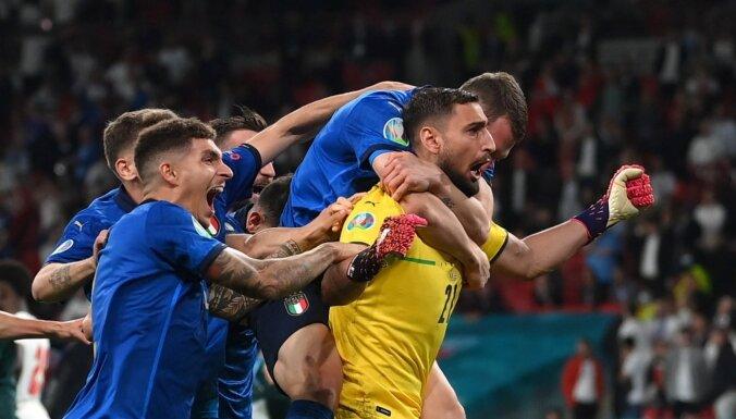 Италия обыграла Англию в серии пенальти и стала чемпионом Европы
