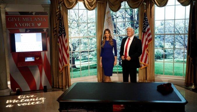 В нью-йоркском музее мадам Тюссо появилась восковая Меланья Трамп