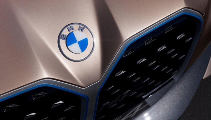 BMW показала новый логотип без черного ободка