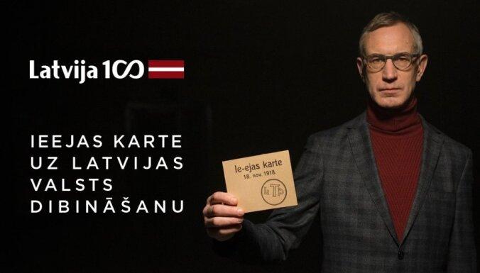 Noskaties! Izveidots interaktīvs video par Latvijas valsts proklamēšanas ceremoniju