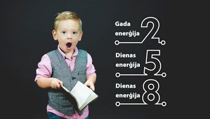 3. decembra numeroloģiskais dienas fons