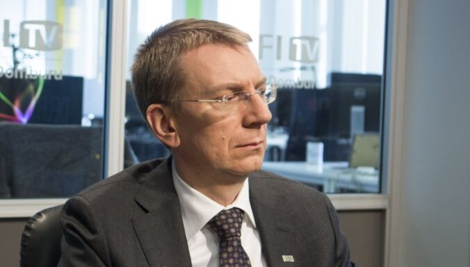 Rinkēvičs: uz Ukrainas un Krievijas robežas jāizvieto ANO miera uzturēšanas spēkus