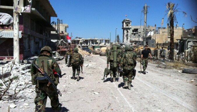 Lielbritānija piekrīt ASV novērtējumam par ķīmisko ieroču izmantošanu Sīrijā
