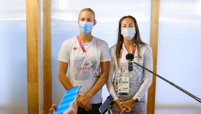Graudiņa un Kravčenoka: esam ļoti labā formā, bet pīķis nav sasniegts