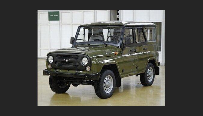 'UAZ' atjauno klasiskā '469' modeļa ražošanu