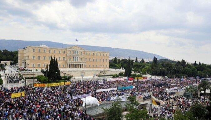 Grieķijas parlaments izsaka uzticību valdībai