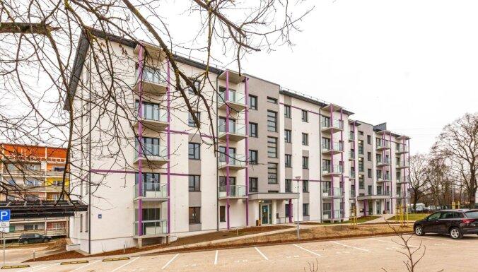 ФОТО: Сдана в эксплуатацию новая жилая пятиэтажка в Пурвциемсе