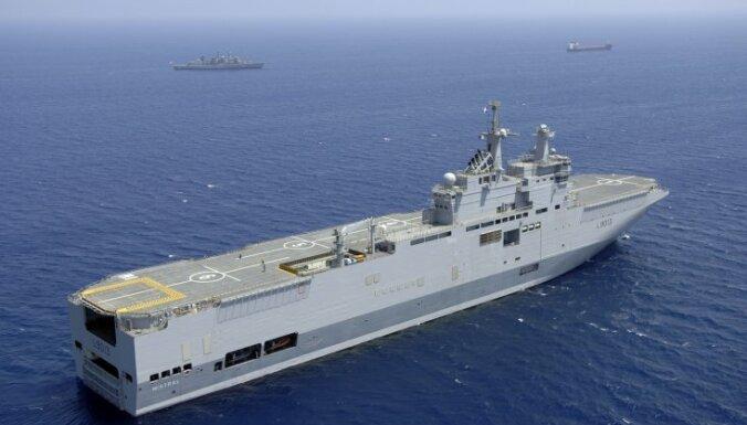 """Канада заинтересована в покупке корабля """"Мистраль"""""""